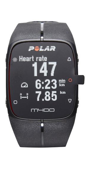 Polar M400 Armband apparaat zwart